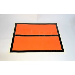 1. PANEL NARANJA SIN TEXTO 300X400 MM